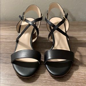 NWT Cole Haan Leather Sandals with Heel